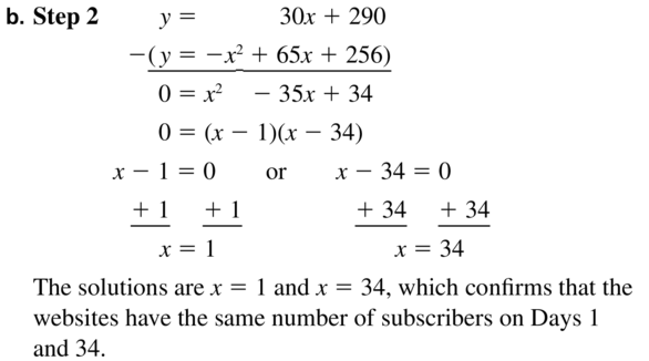 Big Ideas Math Algebra 1 Answer Key Chapter 9 Solving Quadratic Equations 9.6 a 55.2