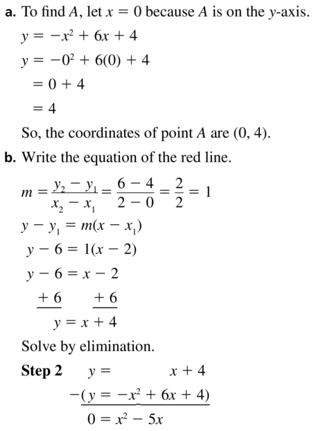 Big Ideas Math Algebra 1 Answer Key Chapter 9 Solving Quadratic Equations 9.6 a 59.1