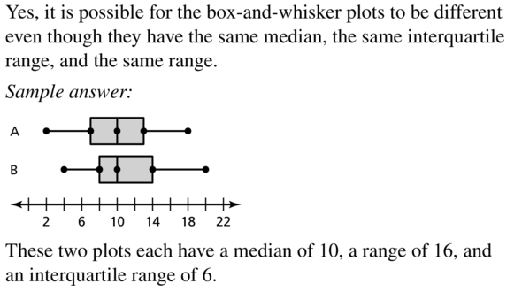 Big Ideas Math Algebra 1 Answers Chapter 11 Data Analysis and Displays 11.2 a 23