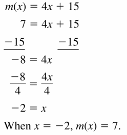 Big Ideas Math Algebra 1 Answers Chapter 3 Graphing Linear Functions 3.3 Question 15