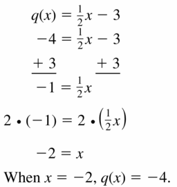 Big Ideas Math Algebra 1 Answers Chapter 3 Graphing Linear Functions 3.3 Question 17