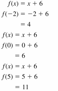 Big Ideas Math Algebra 1 Answers Chapter 3 Graphing Linear Functions 3.3 Question 3