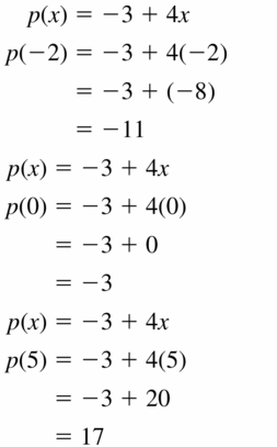 Big Ideas Math Algebra 1 Answers Chapter 3 Graphing Linear Functions 3.3 Question 7