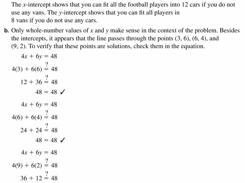 Big Ideas Math Algebra 1 Answers Chapter 3 Graphing Linear Functions 3.4 Question 23.2