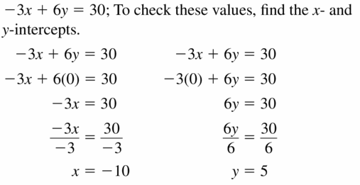Big Ideas Math Algebra 1 Answers Chapter 3 Graphing Linear Functions 3.4 Question 35