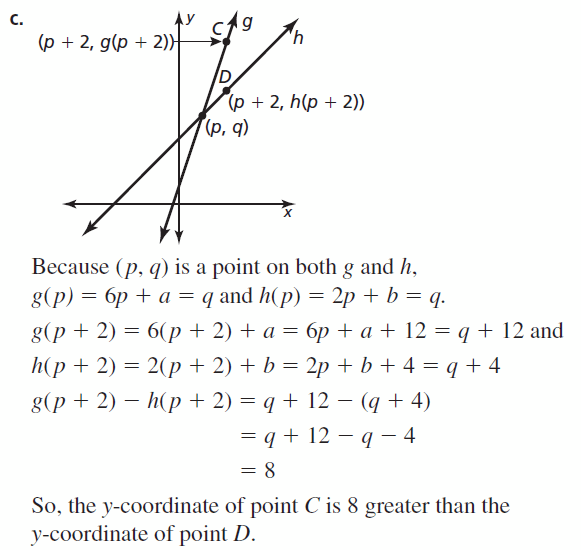 Big Ideas Math Algebra 1 Answers Chapter 3 Graphing Linear Functions 3.5 Question 49.2