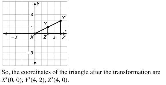 Big Ideas Math Algebra 1 Answers Chapter 3 Graphing Linear Functions 3.5 Question 55