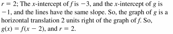 Big Ideas Math Algebra 1 Answers Chapter 3 Graphing Linear Functions 3.6 Question 63
