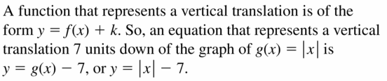 Big Ideas Math Algebra 1 Answers Chapter 3 Graphing Linear Functions 3.7 Question 23