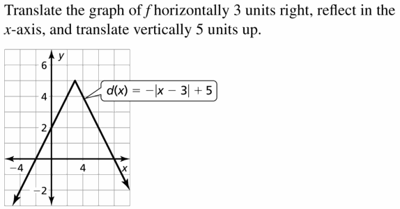 Big Ideas Math Algebra 1 Answers Chapter 3 Graphing Linear Functions 3.7 Question 35