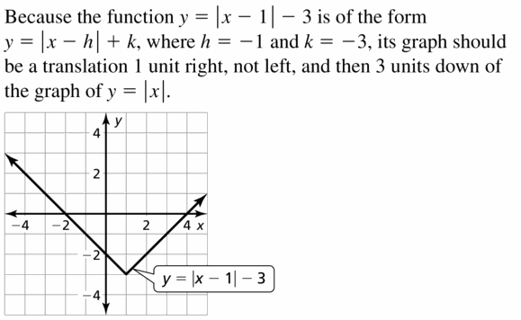 Big Ideas Math Algebra 1 Answers Chapter 3 Graphing Linear Functions 3.7 Question 45