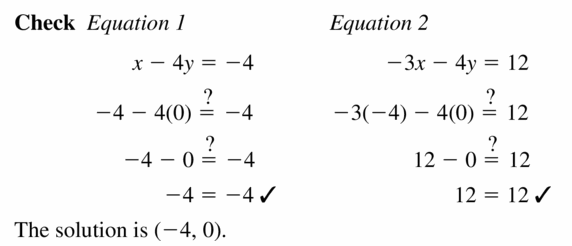 Big Ideas Math Algebra 1 Answers Chapter 5 Solving Systems of Linear Equations 5.1 Question 19.2