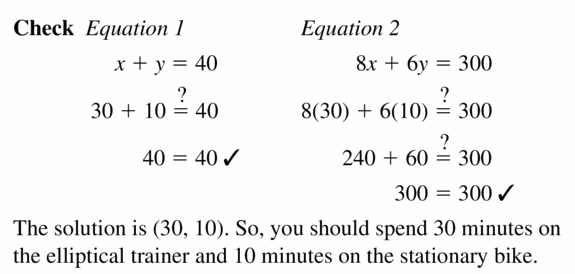 Big Ideas Math Algebra 1 Answers Chapter 5 Solving Systems of Linear Equations 5.1 Question 27.3