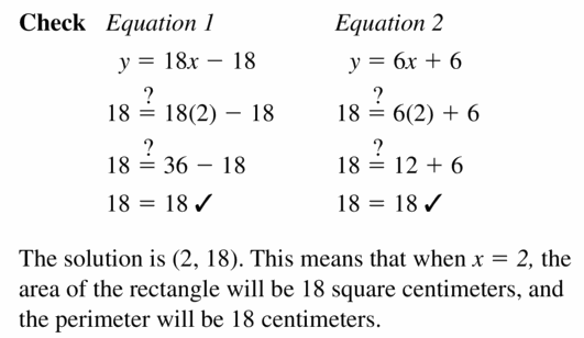 Big Ideas Math Algebra 1 Answers Chapter 5 Solving Systems of Linear Equations 5.1 Question 29.2