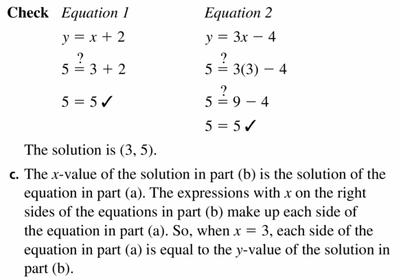 Big Ideas Math Algebra 1 Answers Chapter 5 Solving Systems of Linear Equations 5.1 Question 31.2