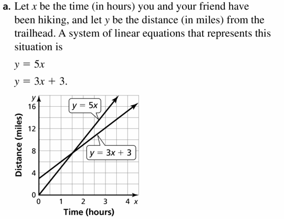 Big Ideas Math Algebra 1 Answers Chapter 5 Solving Systems of Linear Equations 5.1 Question 33.1