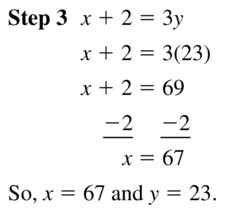 Big Ideas Math Algebra 1 Answers Chapter 5 Solving Systems of Linear Equations 5.2 Question 27.2