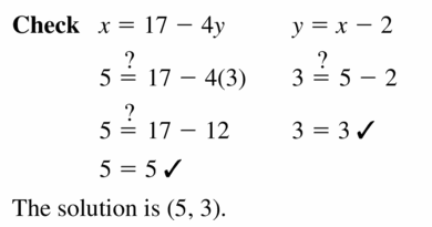 Big Ideas Math Algebra 1 Answers Chapter 5 Solving Systems of Linear Equations 5.2 Question 9.2
