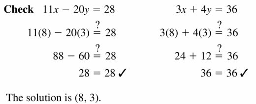 Big Ideas Math Algebra 1 Answers Chapter 5 Solving Systems of Linear Equations 5.3 Question 13.2