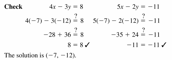 Big Ideas Math Algebra 1 Answers Chapter 5 Solving Systems of Linear Equations 5.3 Question 15.2