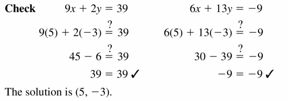Big Ideas Math Algebra 1 Answers Chapter 5 Solving Systems of Linear Equations 5.3 Question 17.2