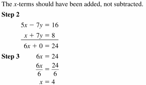 Big Ideas Math Algebra 1 Answers Chapter 5 Solving Systems of Linear Equations 5.3 Question 19
