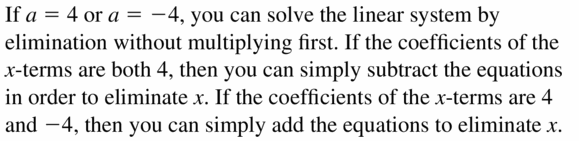 Big Ideas Math Algebra 1 Answers Chapter 5 Solving Systems of Linear Equations 5.3 Question 27