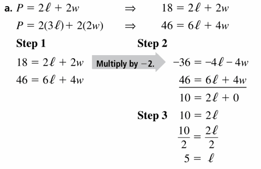 Big Ideas Math Algebra 1 Answers Chapter 5 Solving Systems of Linear Equations 5.3 Question 31.1