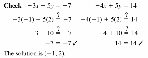 Big Ideas Math Algebra 1 Answers Chapter 5 Solving Systems of Linear Equations 5.3 Question 7.2