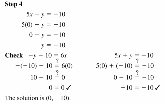 Big Ideas Math Algebra 1 Answers Chapter 5 Solving Systems of Linear Equations 5.3 Question 9.2