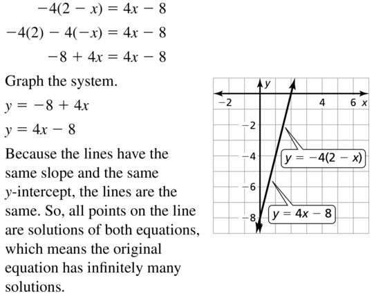 Big Ideas Math Algebra 1 Answers Chapter 5 Solving Systems of Linear Equations 5.5 Question 17
