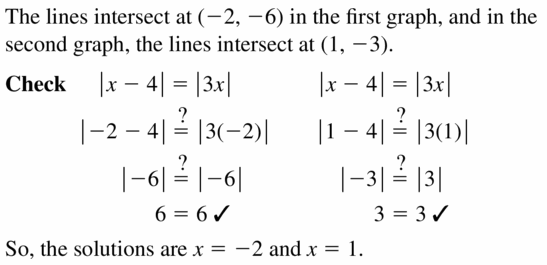 Big Ideas Math Algebra 1 Answers Chapter 5 Solving Systems of Linear Equations 5.5 Question 21
