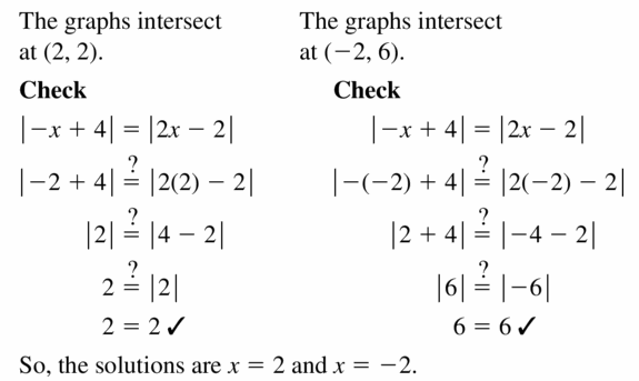 Big Ideas Math Algebra 1 Answers Chapter 5 Solving Systems of Linear Equations 5.5 Question 25.2
