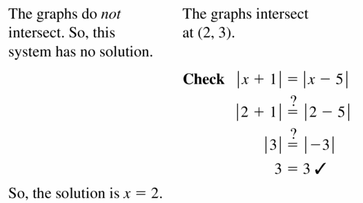 Big Ideas Math Algebra 1 Answers Chapter 5 Solving Systems of Linear Equations 5.5 Question 27.2