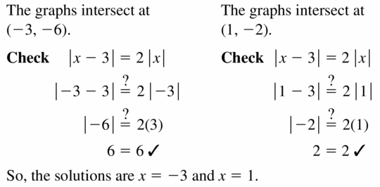 Big Ideas Math Algebra 1 Answers Chapter 5 Solving Systems of Linear Equations 5.5 Question 29.2