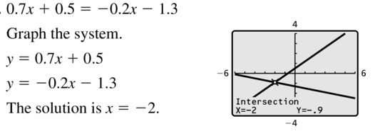 Big Ideas Math Algebra 1 Answers Chapter 5 Solving Systems of Linear Equations 5.5 Question 31
