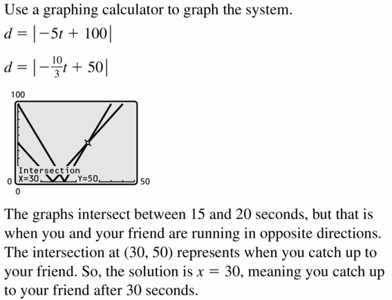 Big Ideas Math Algebra 1 Answers Chapter 5 Solving Systems of Linear Equations 5.5 Question 35