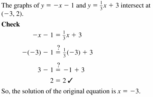 Big Ideas Math Algebra 1 Answers Chapter 5 Solving Systems of Linear Equations 5.5 Question 5