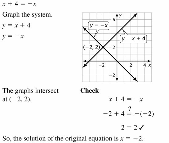 Big Ideas Math Algebra 1 Answers Chapter 5 Solving Systems of Linear Equations 5.5 Question 7