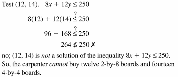 Big Ideas Math Algebra 1 Answers Chapter 5 Solving Systems of Linear Equations 5.6 Question 17