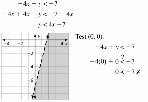 Big Ideas Math Algebra 1 Answers Chapter 5 Solving Systems of Linear Equations 5.6 Question 27