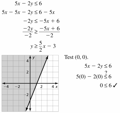 Big Ideas Math Algebra 1 Answers Chapter 5 Solving Systems of Linear Equations 5.6 Question 29