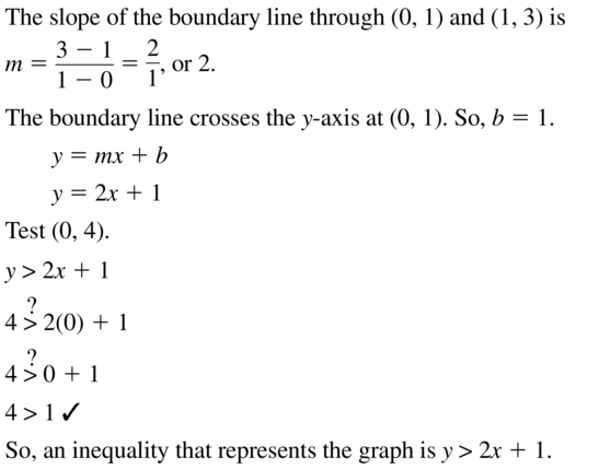 Big Ideas Math Algebra 1 Answers Chapter 5 Solving Systems of Linear Equations 5.6 Question 35