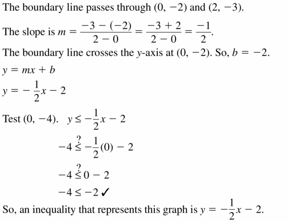 Big Ideas Math Algebra 1 Answers Chapter 5 Solving Systems of Linear Equations 5.6 Question 37