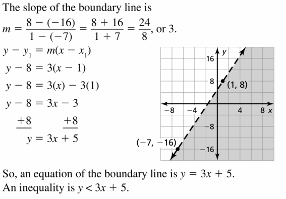 Big Ideas Math Algebra 1 Answers Chapter 5 Solving Systems of Linear Equations 5.6 Question 45.1