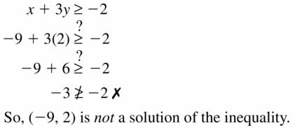 Big Ideas Math Algebra 1 Answers Chapter 5 Solving Systems of Linear Equations 5.6 Question 5