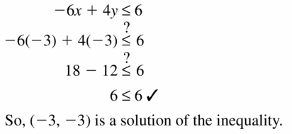 Big Ideas Math Algebra 1 Answers Chapter 5 Solving Systems of Linear Equations 5.6 Question 7