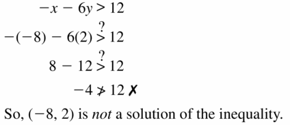 Big Ideas Math Algebra 1 Answers Chapter 5 Solving Systems of Linear Equations 5.6 Question 9