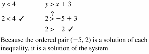 Big Ideas Math Algebra 1 Answers Chapter 5 Solving Systems of Linear Equations 5.7 Question 7