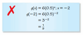 Big Ideas Math Algebra 1 Answers Chapter 6 Exponential Functions and Sequences 54